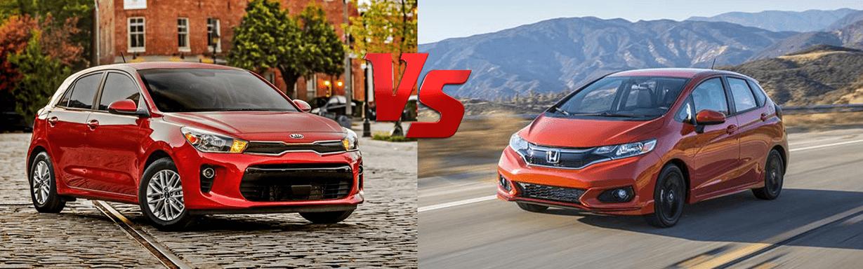 2019 Kia Rio vs 2019 Honda Fit