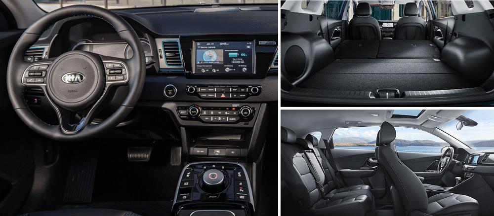 2020 Kia Niro EV Interior Seating, Cargo and Tech