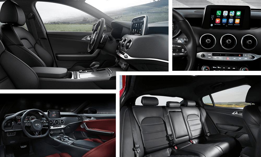 2020 Kia Stinger Calgary - interior look - seating and tech