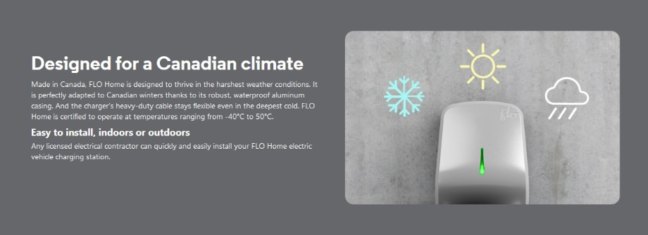 designed for Canadian climate
