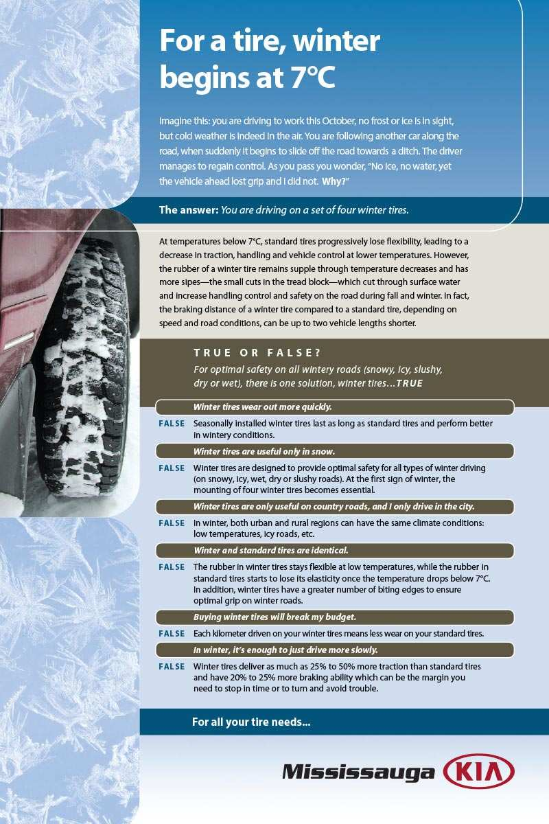 facts about winter tires